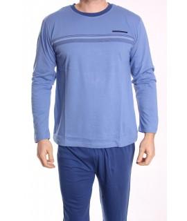 Pánske pyžamo DEVELOP (1876) - modré