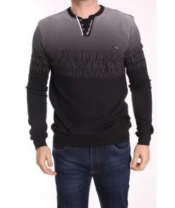 Pánske tričko BK ELVIS (492) - čierne