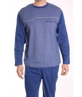 Pánske pyžamo DEVELOP 1875 - modré