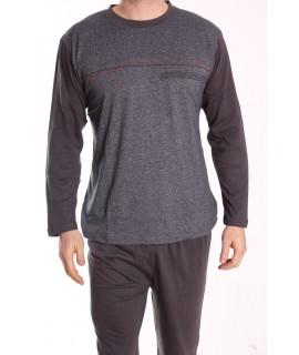 Pánske pyžamo DEVELOP 1875 - antracitové