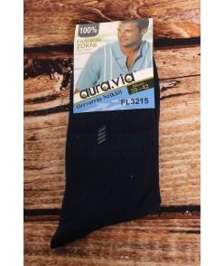 Pánske ponožky AURA.VIA (FL3215) - tmavomodré