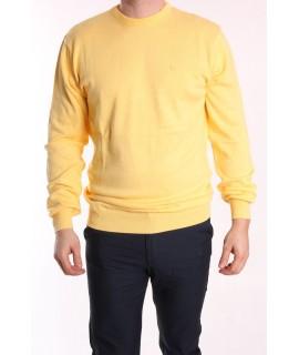 Pánsky pulóver POOL PARK (191406) - žltý