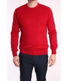 Pánsky pulóver POOL PARK (191408) - červený