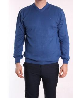 Pánsky pulóver POOL PARK (191407) - modrý