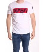 Pánske tričko s krátkym rukávom ELVIS SPORT (757) NASA - biele