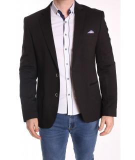 Pánske športovo-elegantné sako ENZO (248) - čierne