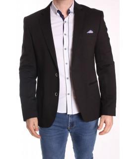 Pánske športovo-elegantné sako ENZO (247) - čierne