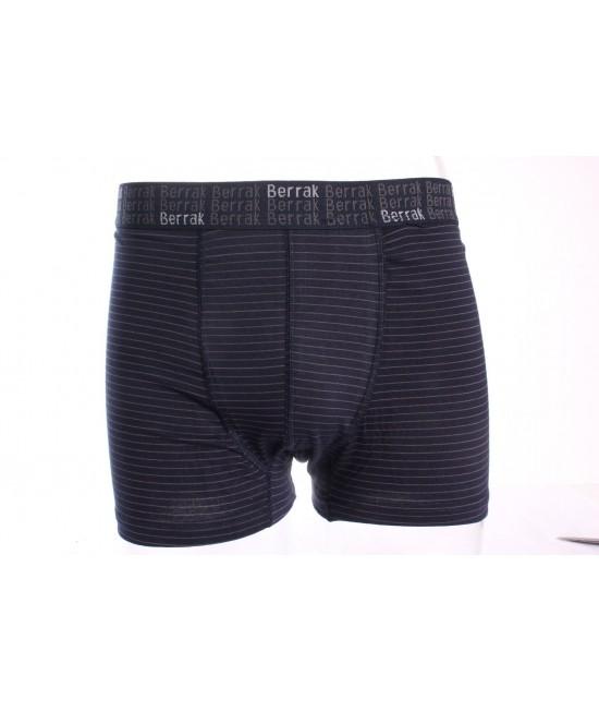 Pánske boxerky BERRAK (4475) - tmavomodré pásikavé