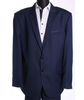 Pánsky oblek ROLAND SYLWETKA B. (v. 182 cm) - čierno-modrý
