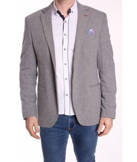 Pánske športovo-elegantné sako ENZO (246) - bledosivé