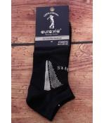 Pánske členkové ponožky AURA.VIA (FD5970) - tmavomodré