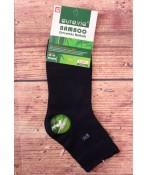 Pánske bambusové ponožky AURA.VIA (FF2092) - tmavomodré