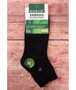Pánske bambusové ponožky AURA.VIA (FF2093) - čierne