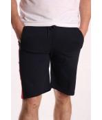 Pánske elastické športové krátke nohavice BOYRAZ (3037) - tmavomodré