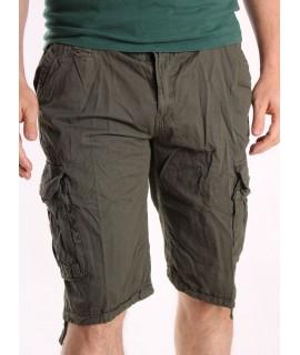Pánske ARMY krátke nohavice LOSHAN (8071-23) - zelené