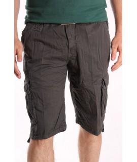 Pánske ARMY krátke nohavice LOSHAN (8071-29) - sivé