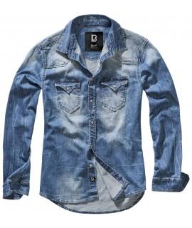 Brandit pánska rifľová košeľa - modrá