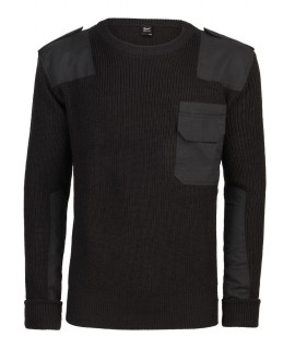 Brandit pánsky pulóver - čierny