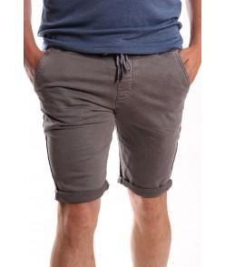 """Pánske elastické krátke nohavice """"M-SARA"""" (KG-3898-48) - sivé"""