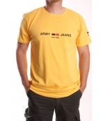 """Pánske tričko """"ELVIS SPORT"""" (743) - žlté"""