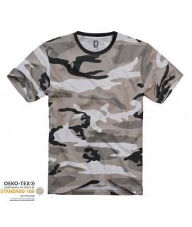 Brandit pánske tričko - maskáčové (urban)