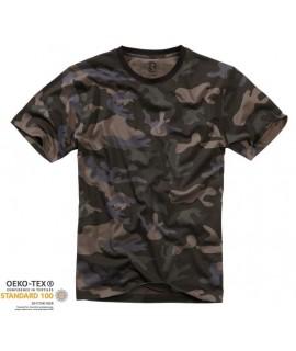 Brandit pánske tričko - maskáčové (darcamo)