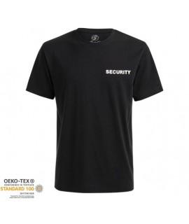 Brandit pánske tričko - čierne (Security)