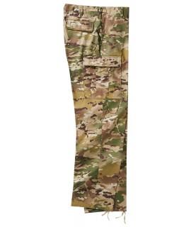 Brandit pánske maskáčové, vodoodpudivé nohavice - tactical camo