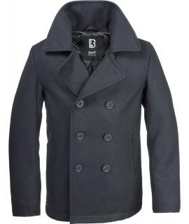 Brandit pánsky flaušový kabát - čierny