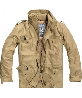 Brandit pánska bunda STANDARD s vyberateľnou zateplenou vložkou - camel