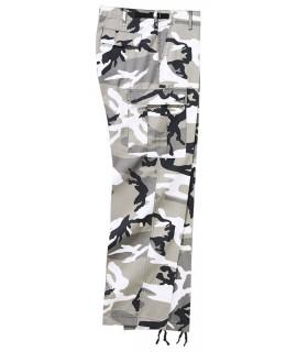 Brandit pánske maskáčové, vodoodpudivé nohavice - urban