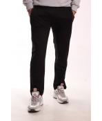 Pánske elastické športové nohavice TOMY PARKER (5791) - čierne