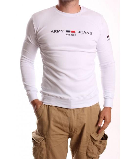 Pánske bavlnené tričko BK ELVIS (920) - biele