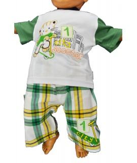 """Detská nohavicová súprava """"maco"""" - zelená"""