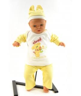 Baby súprava CLOUD - maslovo-žltá