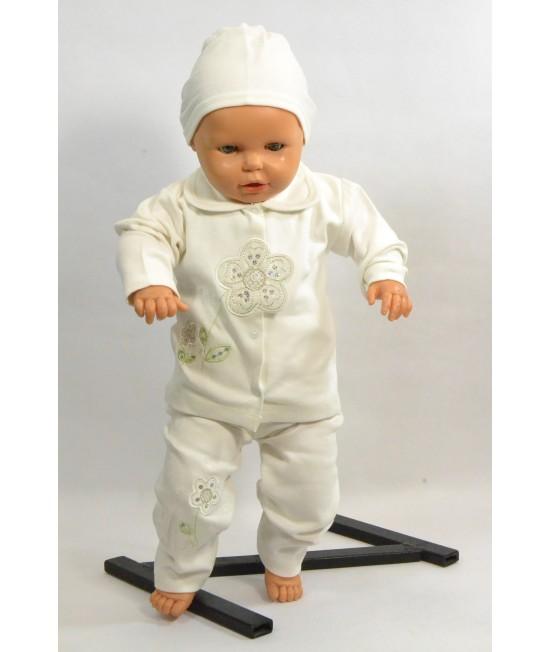 Baby súprava KVIETOK - maslová B1