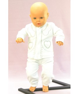 Baby súprava SRDIEČKO - biela B1