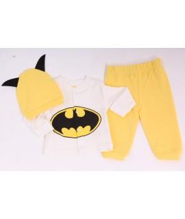 """Detská súprava """"BATMAN"""" - žlto-maslová"""