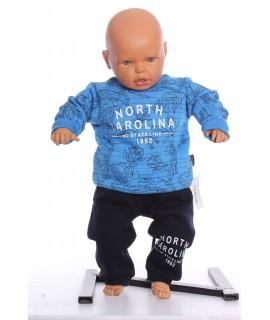 """Chlapčenská zateplená súprava """"NORTH CAROLINA"""" - modrá"""