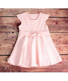 Dievčenské spoločenské šaty - ružové