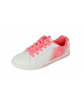 Bielo-ružové tenisky