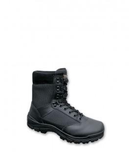 Brandit pánska kožená taktická obuv - čierna