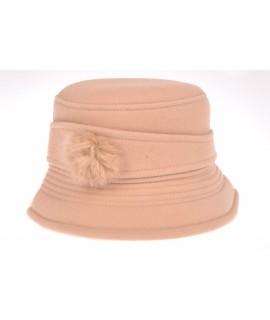 Dámsky klobúk (56-58 cm) - béžový