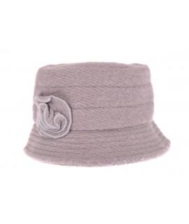 Dámsky klobúk 1. (56-58 cm) - bledosivý