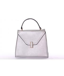 Dámska kabelka (26x23x10 cm) - strieborná
