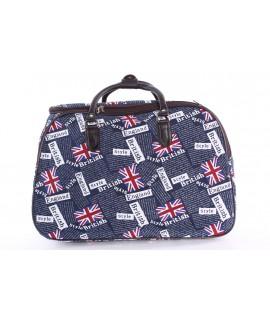 "Cestovná taška ""ENGLAND"" (50x35x29 cm) - tmavomodrá"