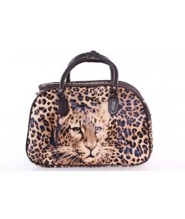 """Cestovná taška """"TIGER 2."""" (42x28x24 cm) - hnedá"""