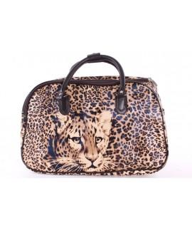 """Cestovná taška """"TIGER 2."""" (45x29x25 cm) - hnedá"""