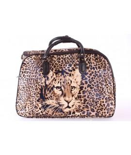 """Cestovná taška """"TIGER 2."""" (50x35x29 cm) - hnedá"""