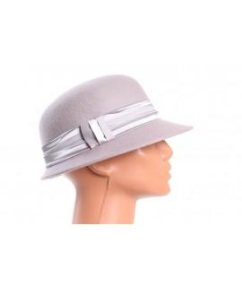Dámsky klobúk - sivý